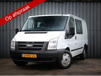 Ford Transit 260S 2.2 TDCI DC, 7-Pers, Airco, Trekhaak, Dubbele C