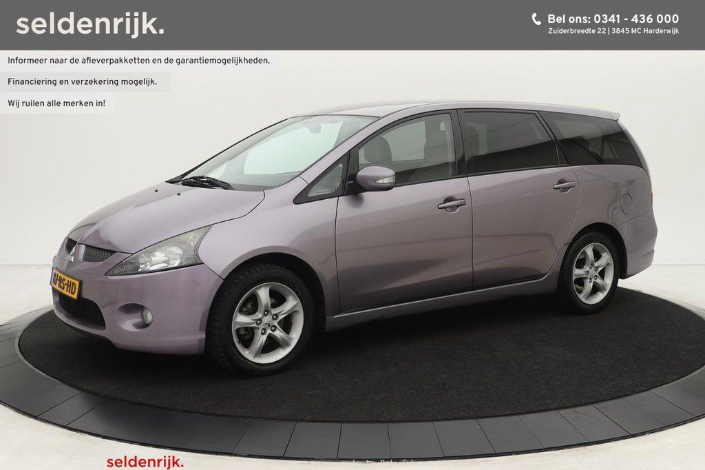 Mitsubishi Grandis 2.4-16V Intense 6-persoons | Automaat | Climat